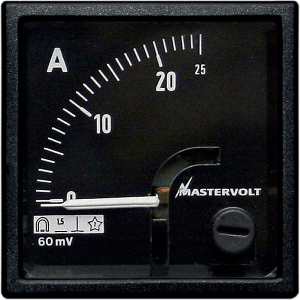 Amps meter 0-25 A DC