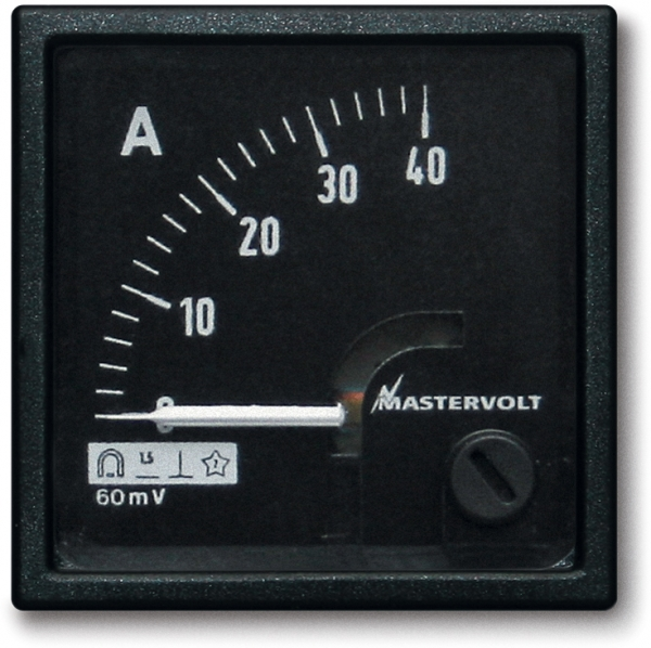 Amps meter 0-40 A DC