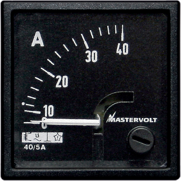 Amps meter 0-80 A DC