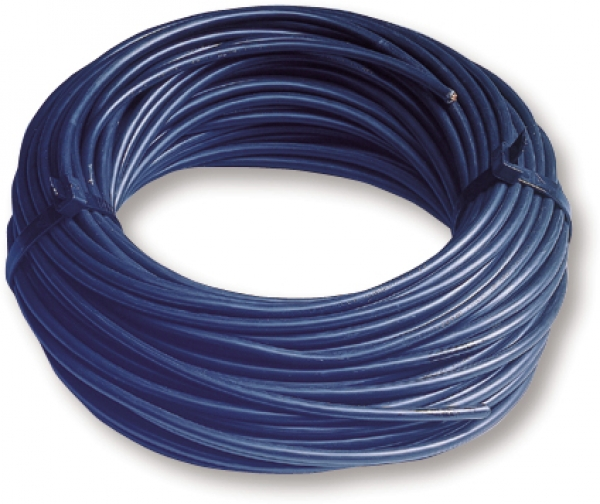 Installationskabel, blau, 4 mm²