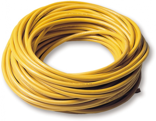 Installation cable yellow/green 0.75 mm²