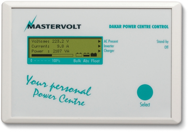Panello Dakar Power Centre Control