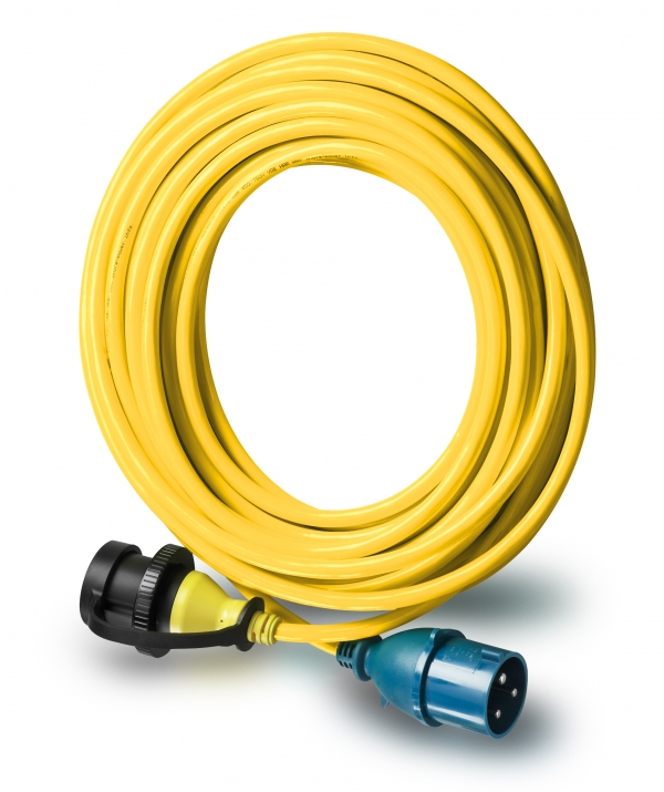 Cable de alimentación 32 A - 25 mtr 4 mm²