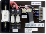 DC Distribution System 3 industrial fuses (open version)