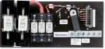 DC Distribution System 5 industrial fuses (open version)