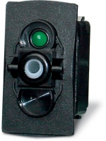 Waterproof switch, off/on/on 1p (wiper)