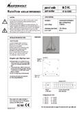 Kundenspezifisches übersichtspanel (für Segelyachten) (Serie 2)