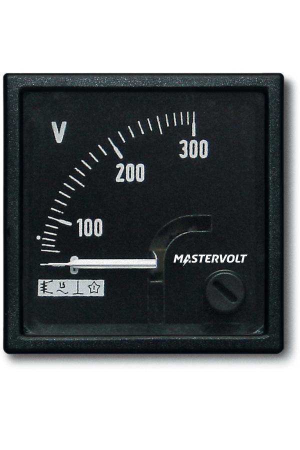 Volmetro AC 0-300 V