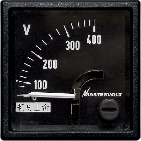 Voltage meter 0-400 V AC (exclusive power supply)
