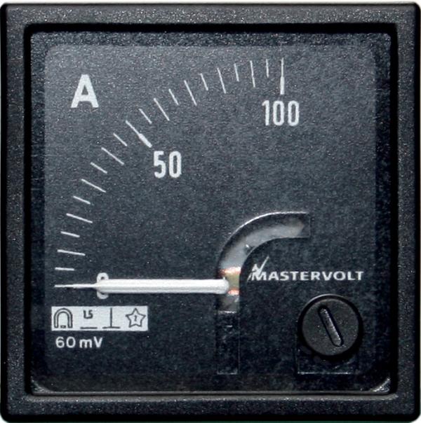 Ampèremètre 0-100 A CC