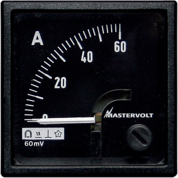 Amps meter 0-60 A DC
