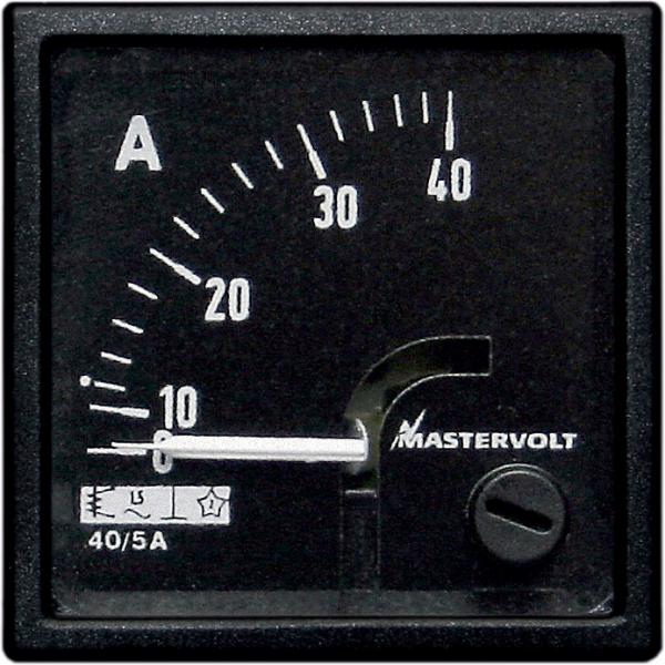 Amps meter 0-80 A DC