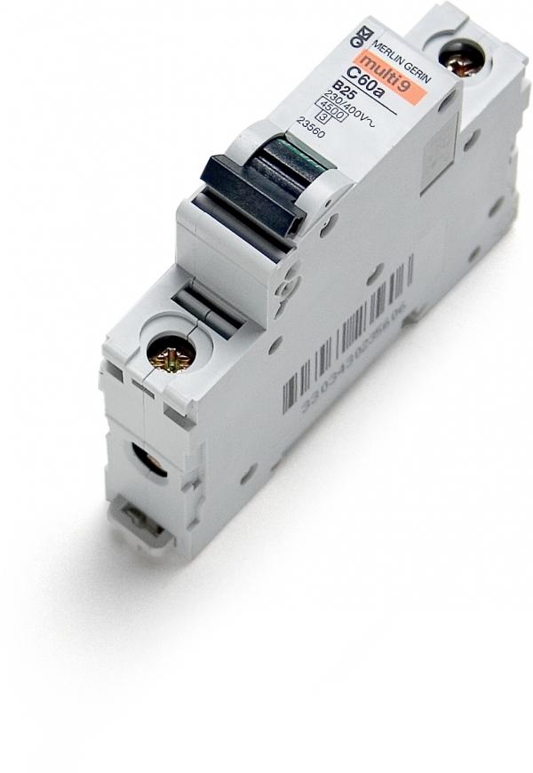 Disjoncteur C60a 25 A-B, unipolaire