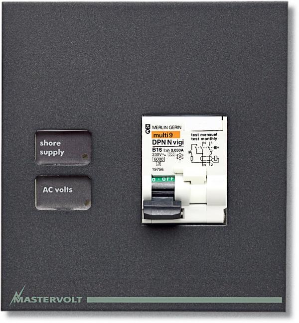 Leeres Fehlerstromschutzschalter-Panel CA B-2-SP (AC) (Serie 2)