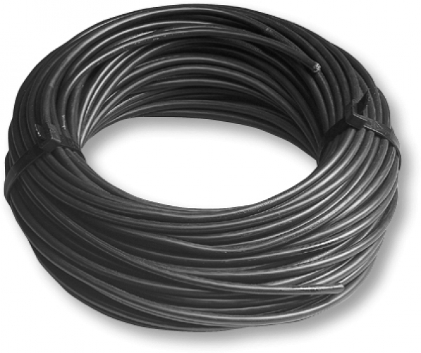 Installation cable black 16 mm²