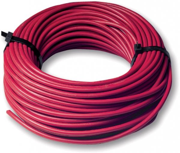 Câble d'installation rouge 6 mm²