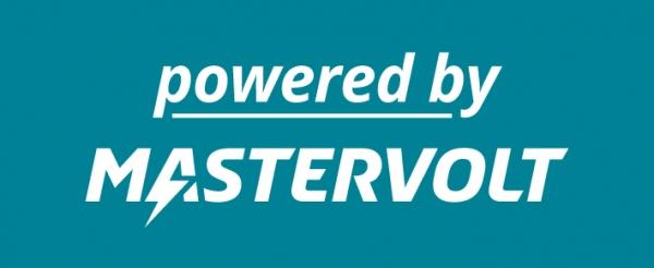 Sticker 'powered by'