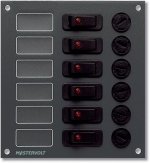 Combined Fuse/Switch Panel